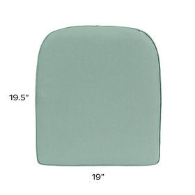 Replacement Chair Cushion - 19x19.5