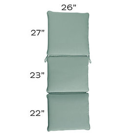 Replacement Chaise Cushion - 26 x 72