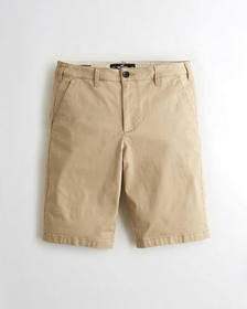 Hollister Hollister Epic Flex Flat-Front Short 12""