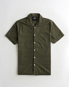 Hollister Hollister Summer Shirt, OLIVE