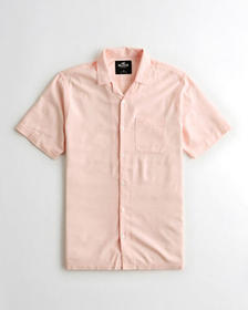 Hollister Hollister Summer Shirt, LIGHT PINK