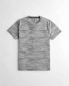 Hollister Must-Have Crewneck T-Shirt, HEATHER GREY