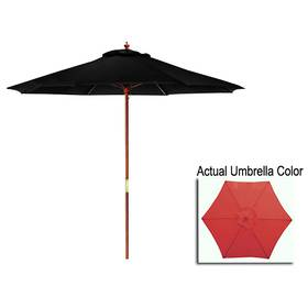 Northlight Seasonal 9ft. Patio Market Umbrella wit