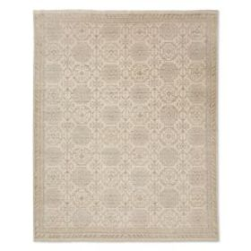 Khottan Hand Knotted Rug, Ivory
