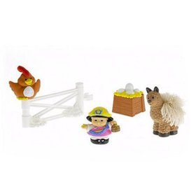 Fisher Price Little People Touch & Feel Farm Anima