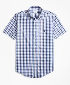 Brooks Brothers Non-Iron Regent Fit Outline Check
