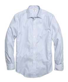 Brooks Brothers Non-Iron Regent Fit Twin Stripe Sp