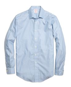 Brooks Brothers Non-Iron Madison Fit Twin Stripe S
