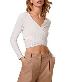 FRENCH CONNECTION - Samaya Crossover Crop Top