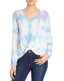 Design History - Tie-Dyed Twist-Front Top