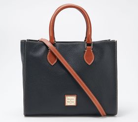 """""""As Is"""" Dooney & Bourke Pebble Leather Janine Tote"""