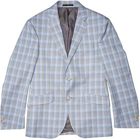 Kenneth Cole Reaction Windowpane Plaid Sportcoat