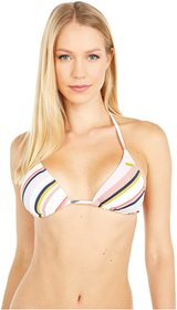 Roxy Print Beach Classics Tiki Triangle Top