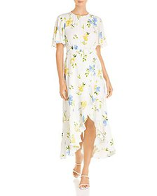 FRENCH CONNECTION - Emina Floral Print Maxi Dress