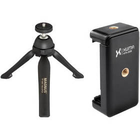 Magnus TP-50B MicroPod Tabletop Tripod and Xuma Sm
