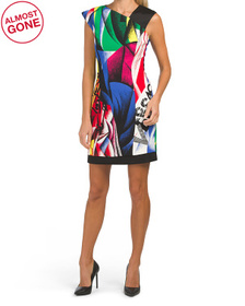 VERSACE Made In Italy Printed Dress