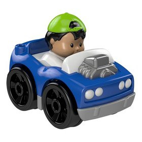 Fisher-Price Little People Wheelies Hot RodAnd eac