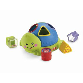 Fisher-Price Friendly Firsts Turtle Shape Sorter (