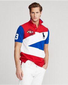 Ralph Lauren Yacht Club Mesh Polo Shirt - All Fits
