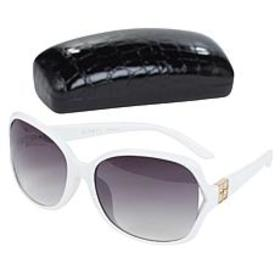 """As Is"" IMAN Global Chic Vented Sunglasses with Ca"
