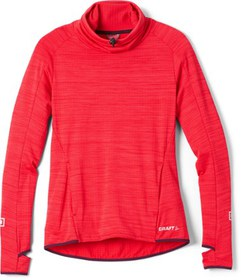 Craft Grid Turtleneck Base Layer Top - Women's