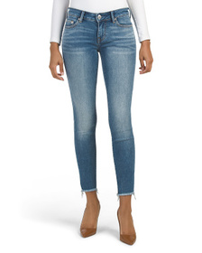TRUE RELIGION Halle Skinny Jeans With Crystal Deta
