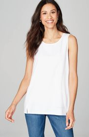 Luxe Supima® Scoop-Neck Tank