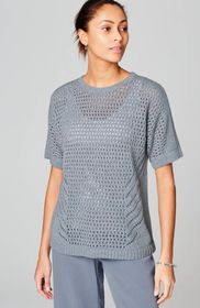 Pure Jill Textured Easy Sweater