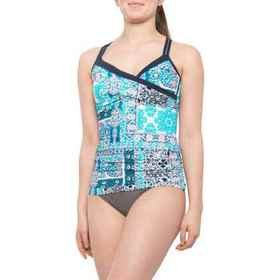 Seafolly Silk Market Wrap Tankini Top - Underwire