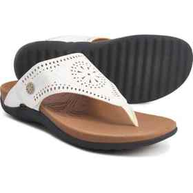 Rockport Ridge Cutout Thong Sandals (For Women) in