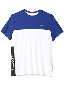 Lacoste Short Sleeve Performance Color-Block Tee