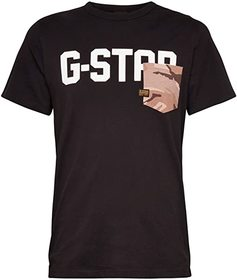 G-Star Gsraw All Over Pocket Round Neck T-Shirt