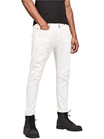 G-Star D-Staq 3-D Slim Jeans in White