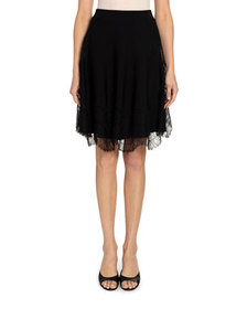 Givenchy Wavy Lace Skirt