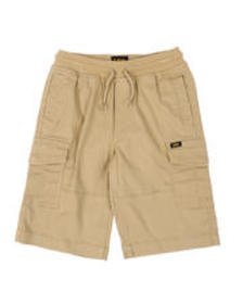 Lee stretch twill pull-on cargo shorts (8-20)