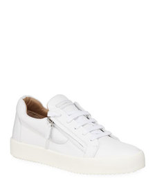 Giuseppe Zanotti Men's Updated Double-Zip Low-Top