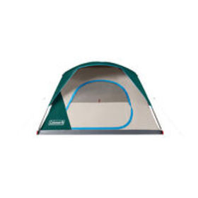 Coleman Skydome 6-Person Camping Tent, Evergreen $