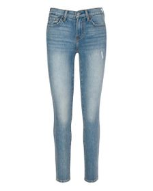 7 For All Mankind Ankle Skinny with 7 Needle Side