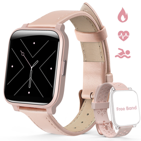 Hommie Fitness Tracker, Smart Watch with Touch Scr