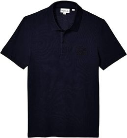 Lacoste Short Sleeve 2 Ply Pique Graphic Animation