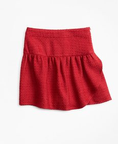 Brooks Brothers Girls Boucle Skirt