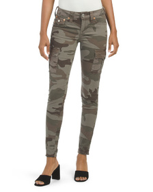 TRUE RELIGION Skinny Camo Cargo Pants