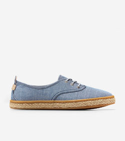 Cole Haan Cloudfeel Lace Up Espadrille