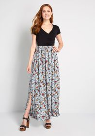 ModCloth ModCloth Boundless Enjoyment Maxi Dress B