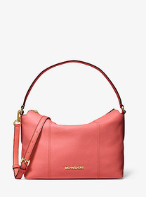 Michael Kors Brooke Medium Pebbled Leather Shoulde