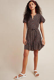 Anthropologie Alycia Mini Dress