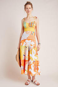 Anthropologie Margarella Maxi Dress