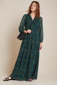 Anthropologie Daphne Maxi Dress