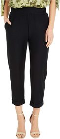 MICHAEL Michael Kors Solid Rolled Cuff Pants