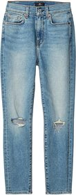7 For All Mankind The High-Waist Ankle Skinny in R